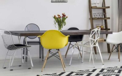 Cómo combinar mesas y sillas de comedor